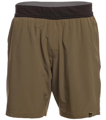 Prana Men's Overhold Yoga Shorts At YogaOutlet.com