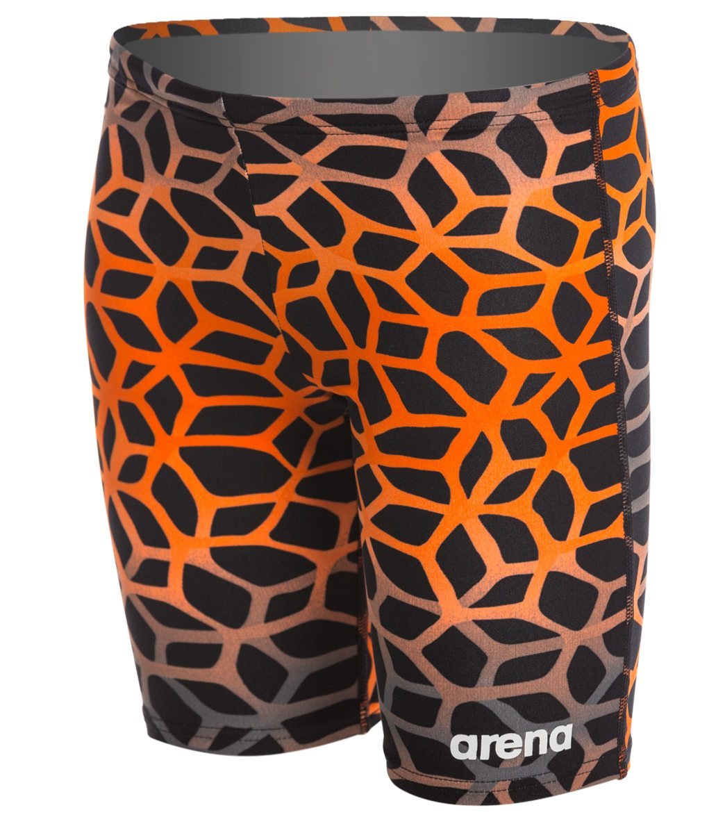 06277034e1 Arena Boy's Polycarbonite II Jammer Swimsuit at SwimOutlet.com - Free  Shipping
