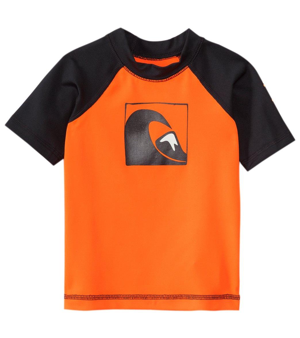 f0aa1823ed ... Quiksilver Infant Boy's Main Peak Short Sleeve Rash Guard. Share