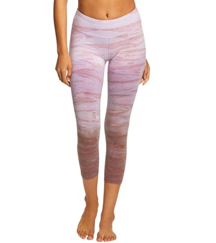 e6f1c800cad54 Hard Tail Flat Waisted Cotton Yoga Capris at YogaOutlet.com - Free Shipping