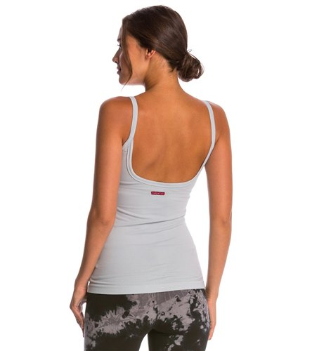 ba7bcf8622a87 Hard Tail Scoop Back Yoga Tank Top with Bra at YogaOutlet.com
