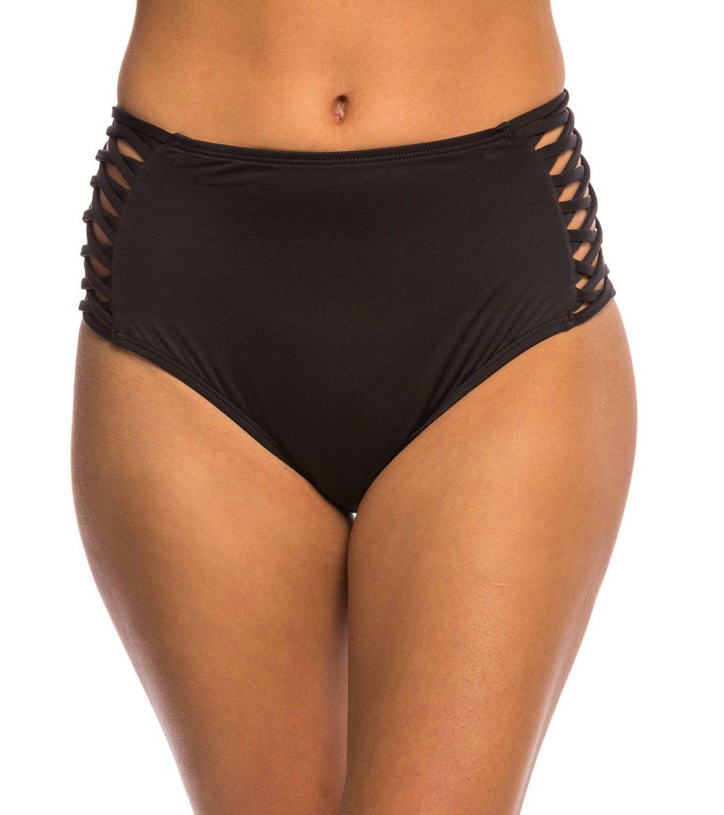 ad2f7728aecb ... L-Space Swimwear Sensual Solids Tigress High Waist Bottom. Play Video.  Play Video