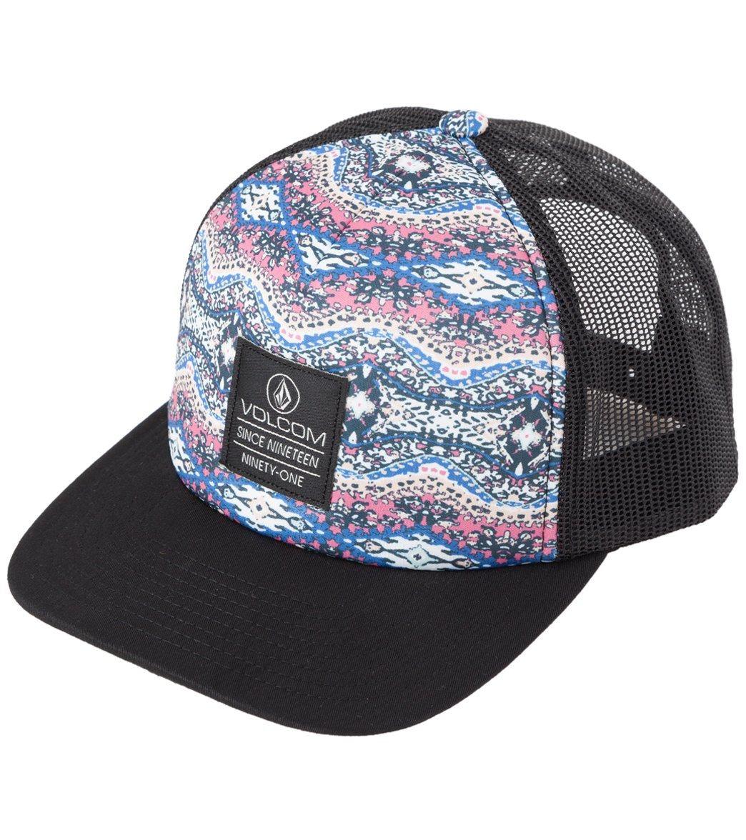 Volcom Nacho Trucker Mauve Hat at SwimOutlet.com 6e757962b851