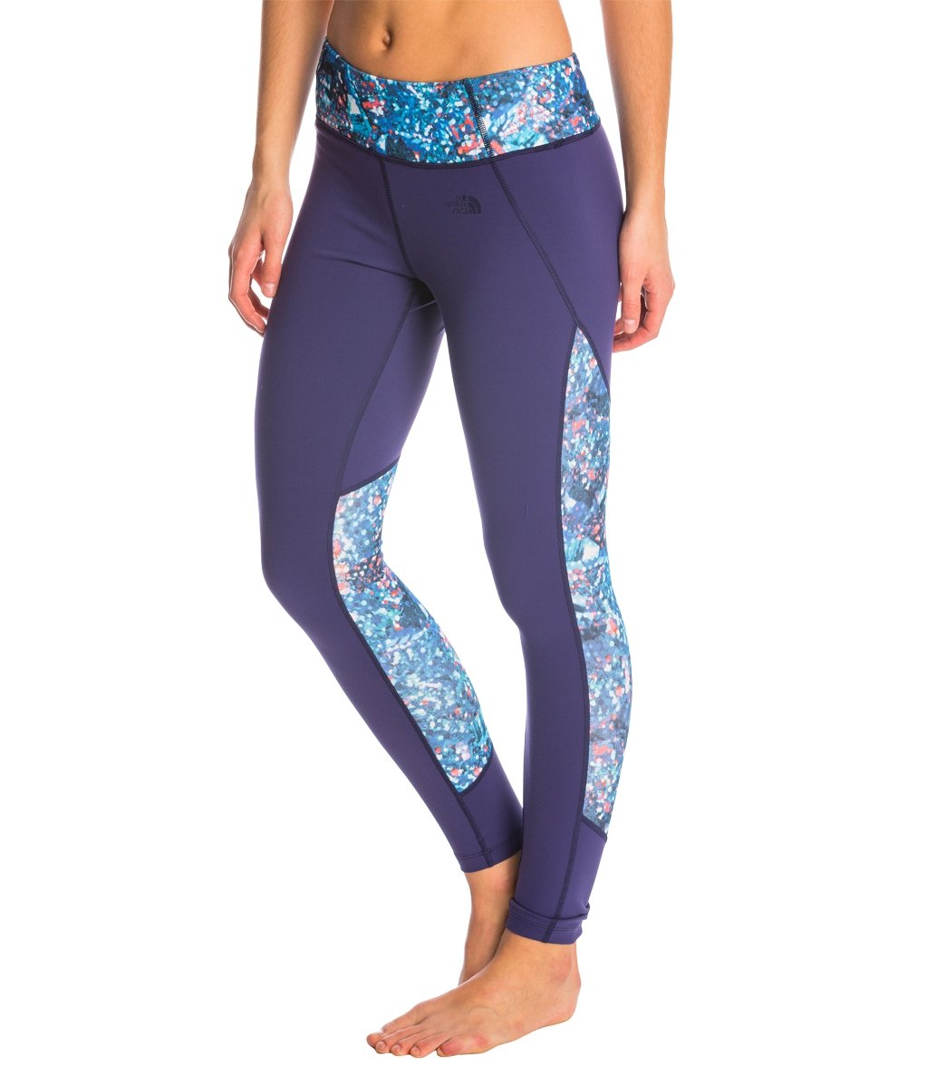 ef4e43ade997f8 The North Face Women's Motivation Color Block Printed Legging at ...