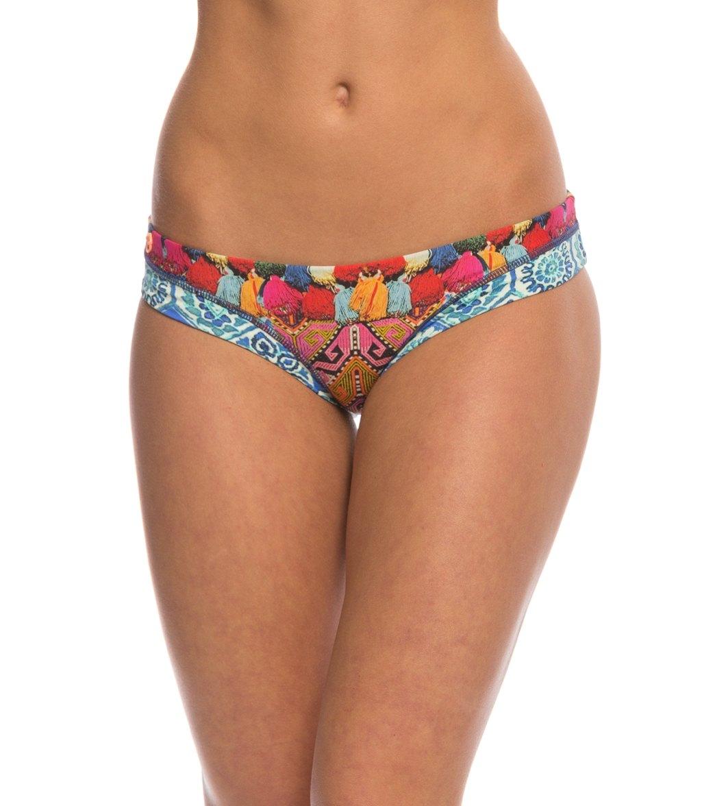 Maaji Tassels And Tiles Signature Bikini Bottom At