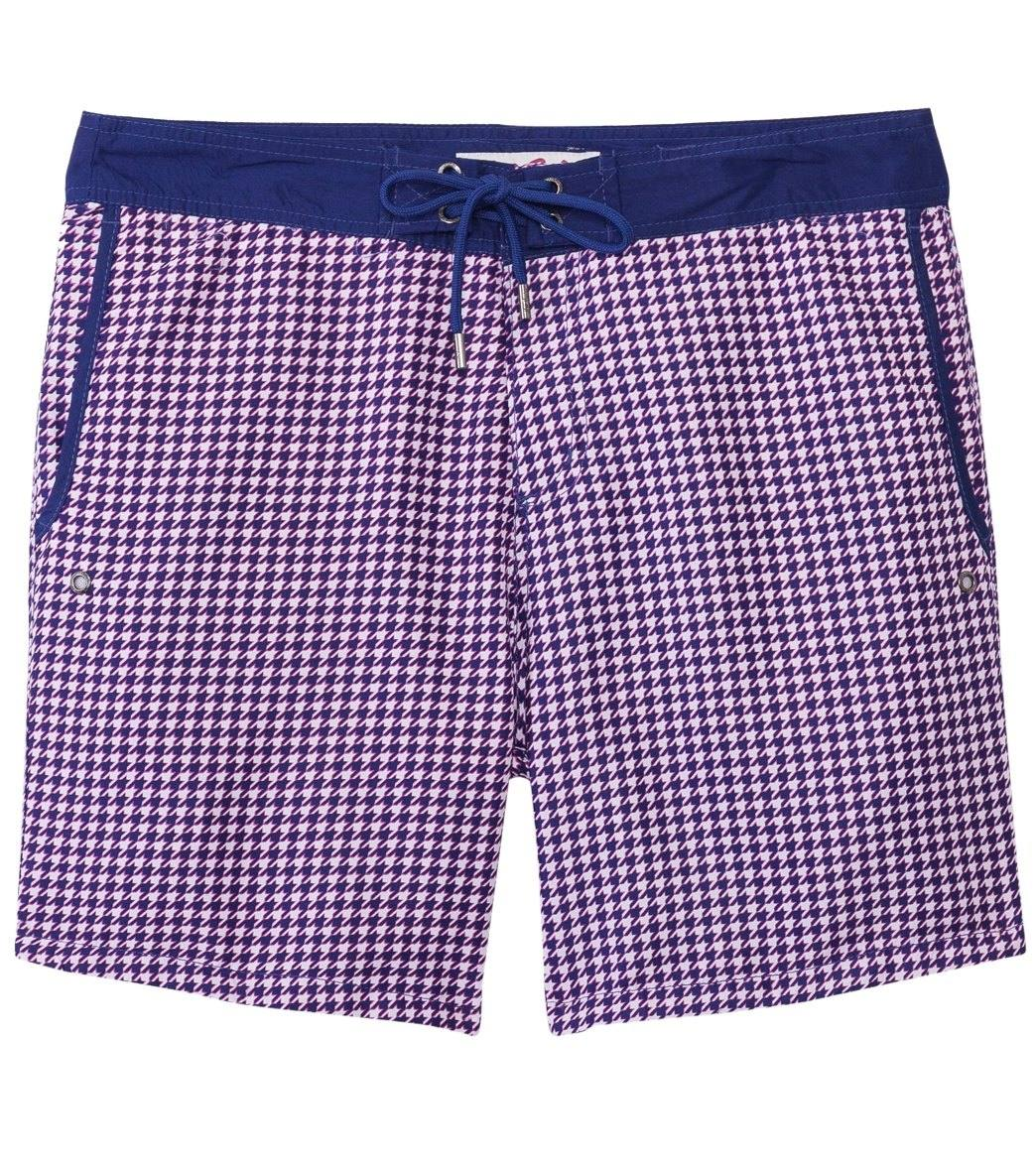 0c1d49ff41 Mr.Swim Men's Chuck Houndstooth Swim Trunk at SwimOutlet.com ...