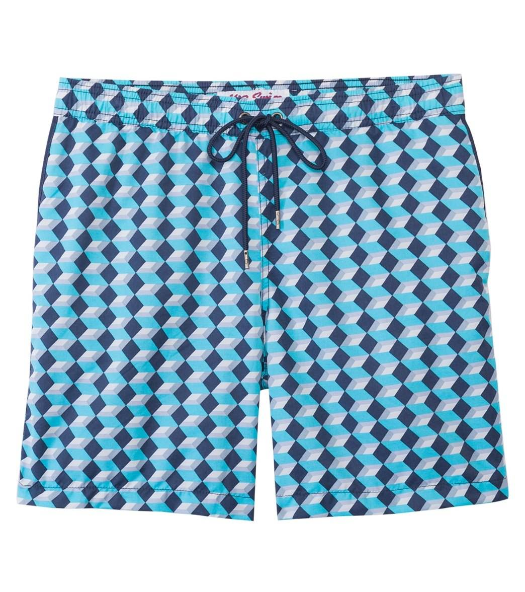 3137ec76c9 ... Mr.Swim Men's Dale Boxes Elastic Swim Trunk. Share