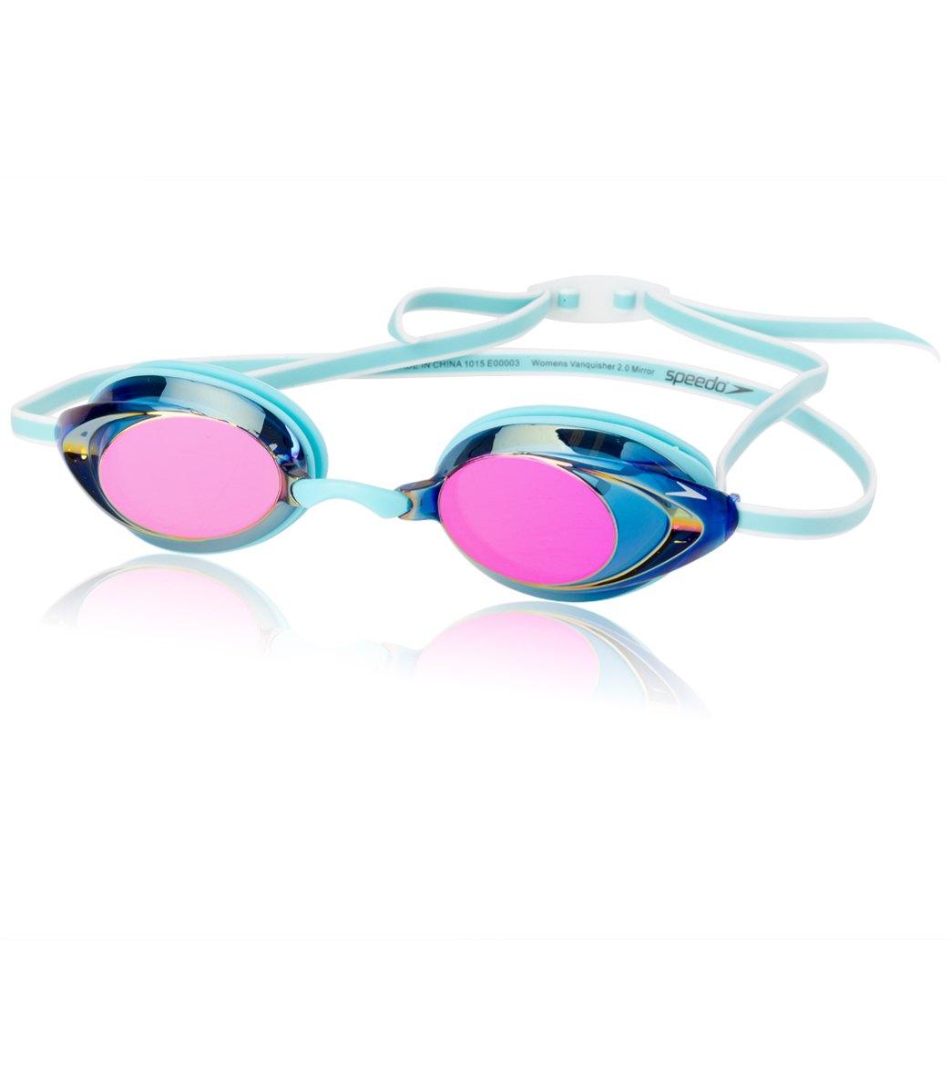 2d330aed7c Speedo Women s Vanquisher 2.0 Mirrored Goggle at SwimOutlet.com