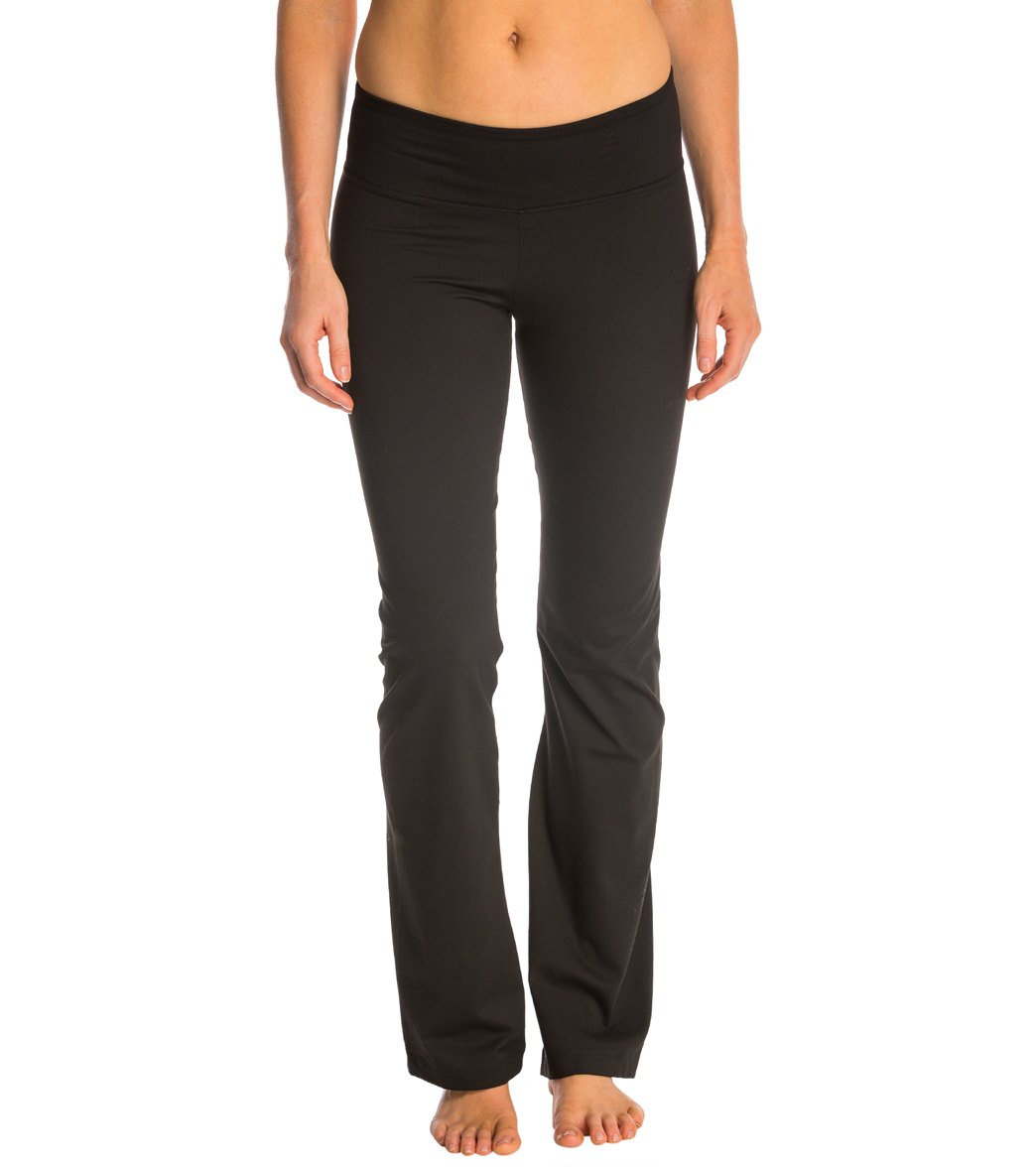 Marika Balance Collection Flat Waist Yoga Pants at YogaOutlet.com