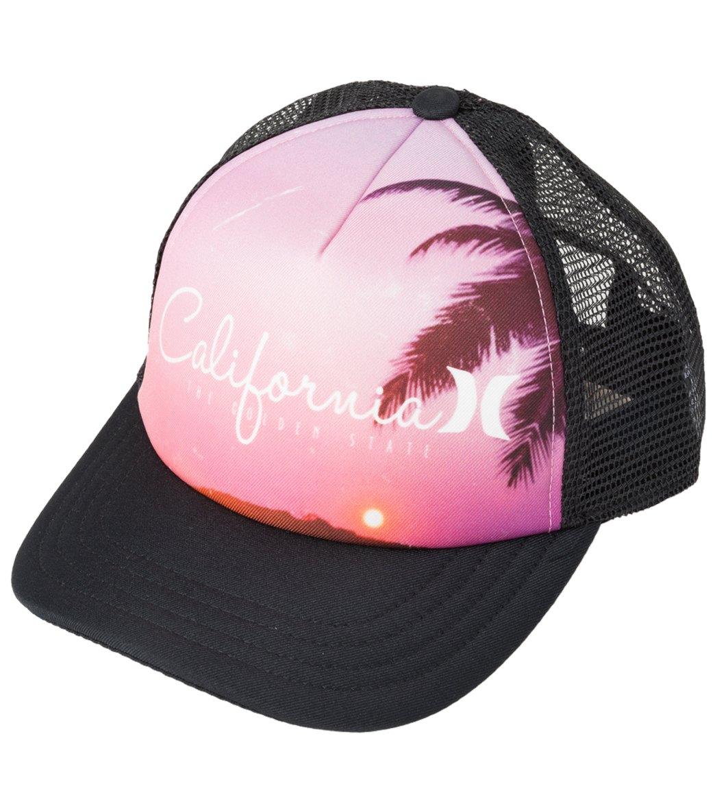 6d339410f31b4 Hurley Destination Trucker Hat at SwimOutlet.com