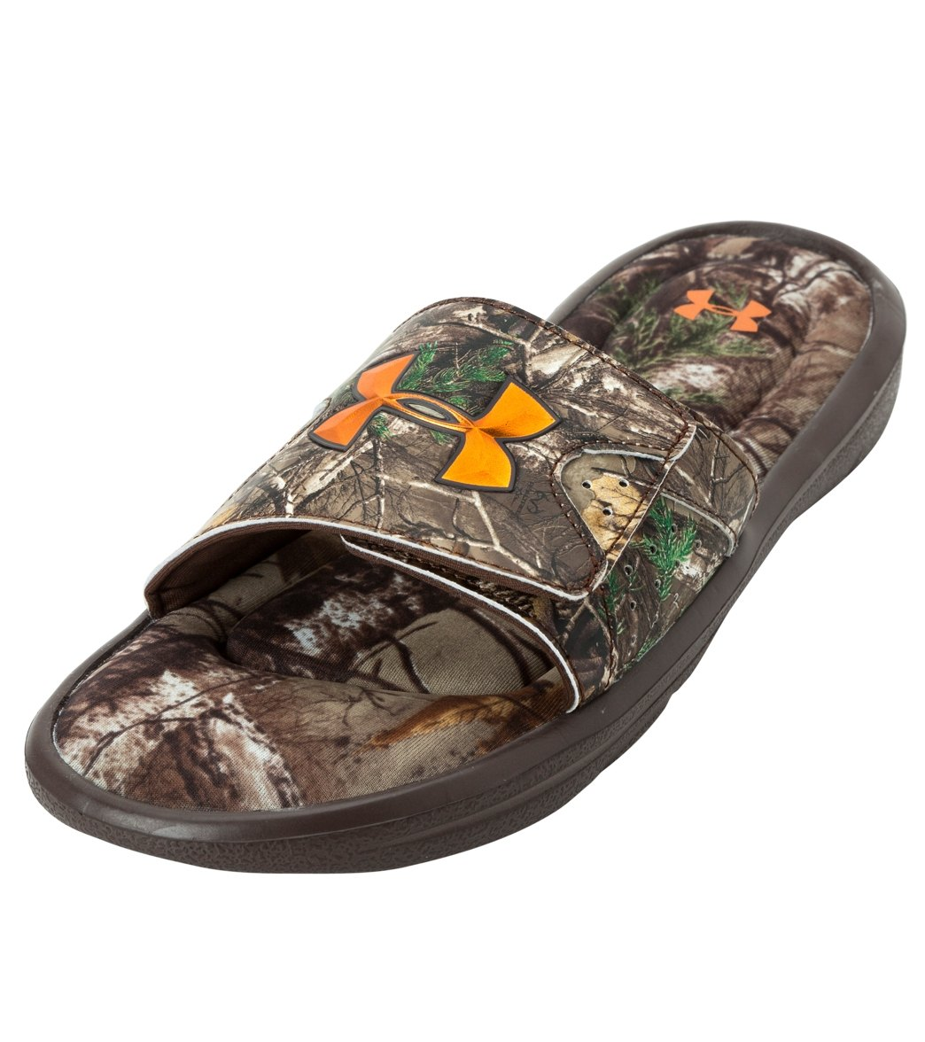 6b11f0ea Under Armour Men's Ignite Camo IV Slide Sandals