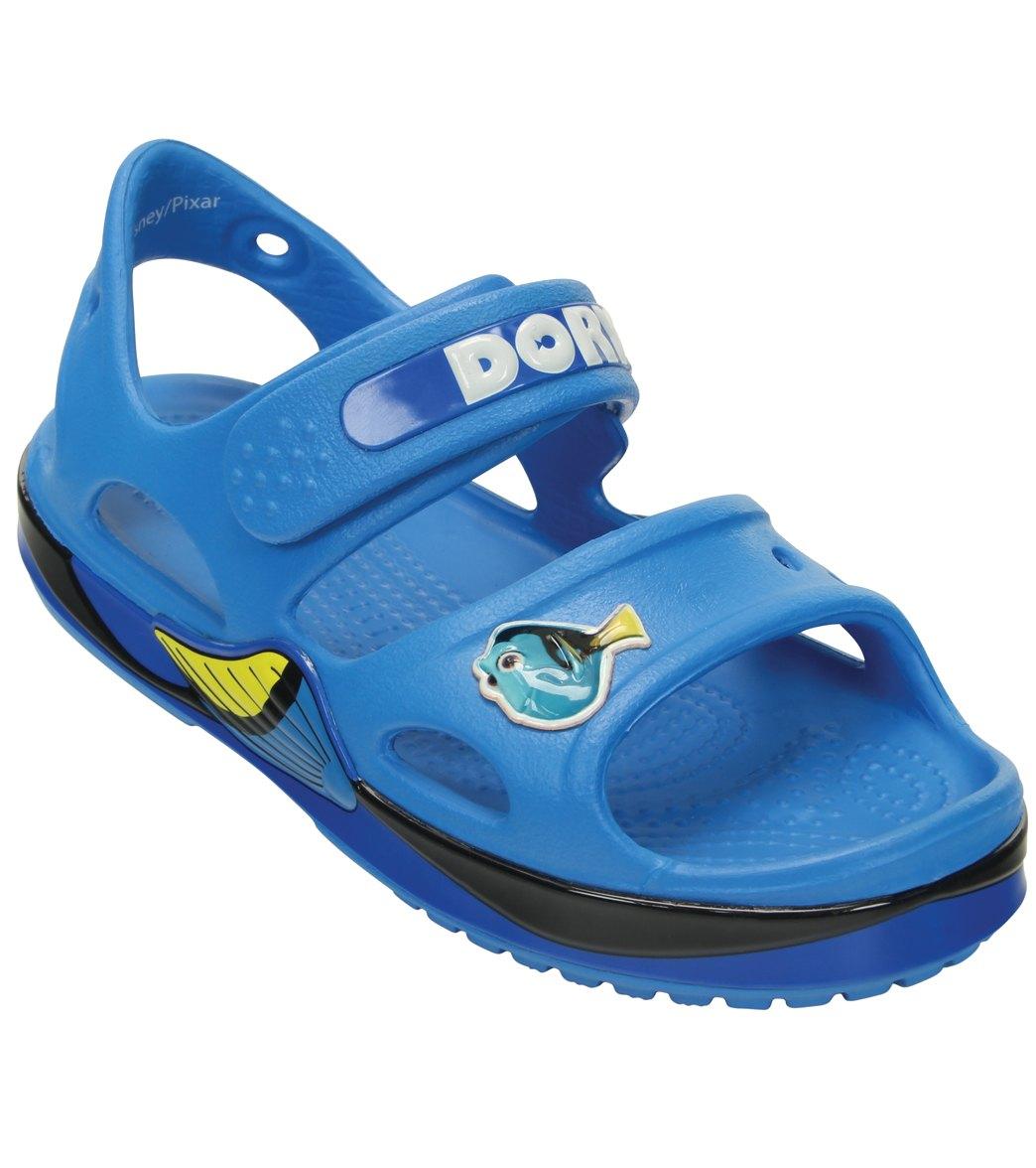 3c5c83c196ac2d Crocs Kids  Crocband II Finding Dory Sandal (Toddler  Little Kid  Big Kid