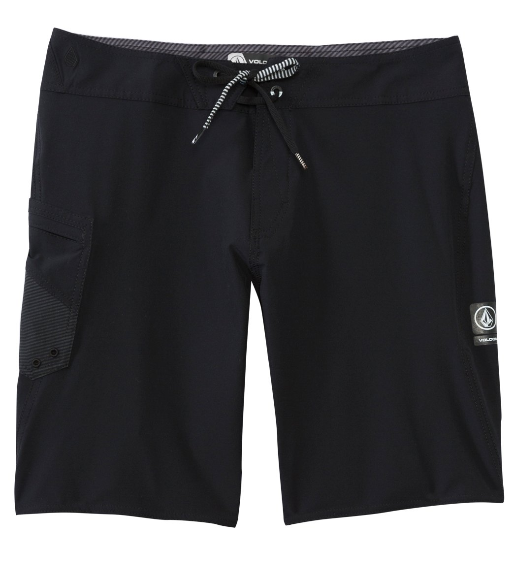9ed7158b3e Volcom Men's Lido Solid Mod 20'' Boardshort at SwimOutlet.com