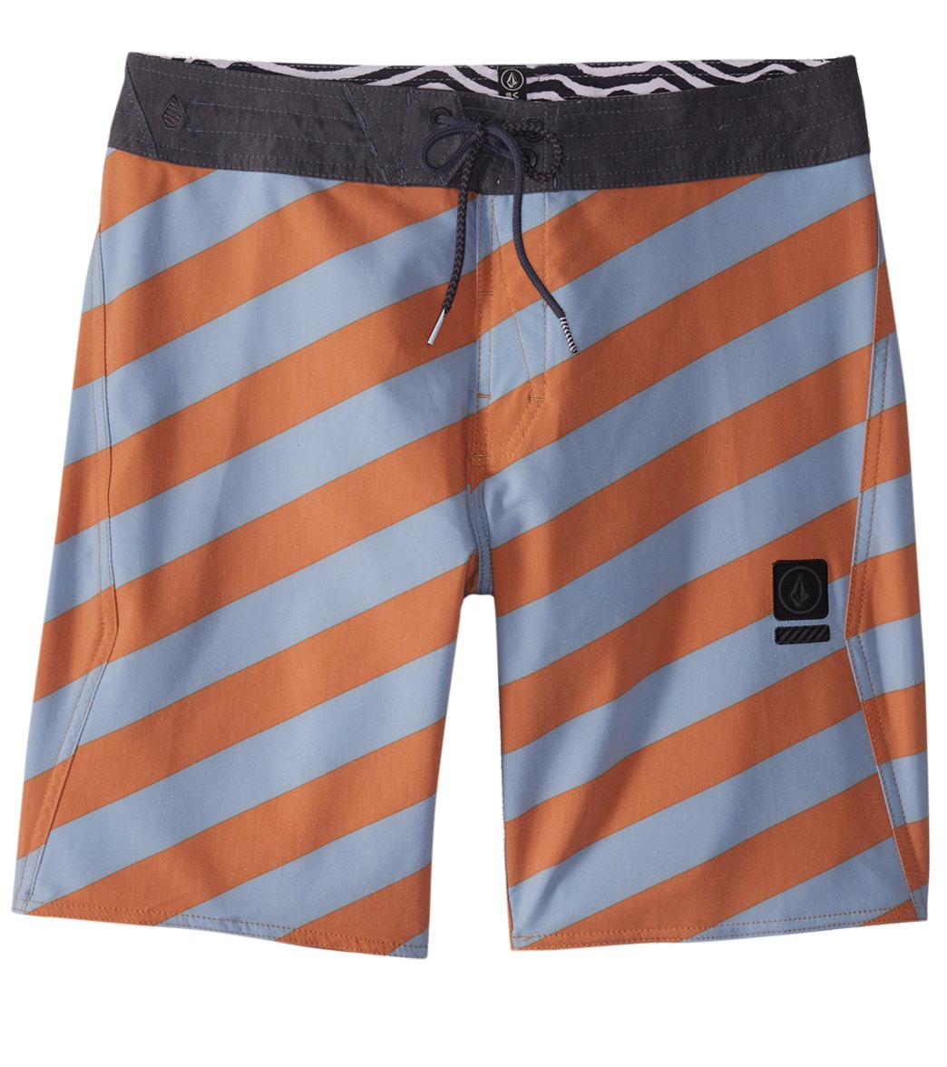 54f3ab9552 Volcom Men's Stripey Stoney 19'' Boardshort at SwimOutlet.com - Free  Shipping