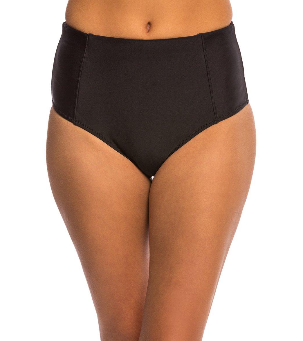 ac49b8e63c Volcom Swimwear Simply Solid Retro Bikini Bottom at SwimOutlet.com