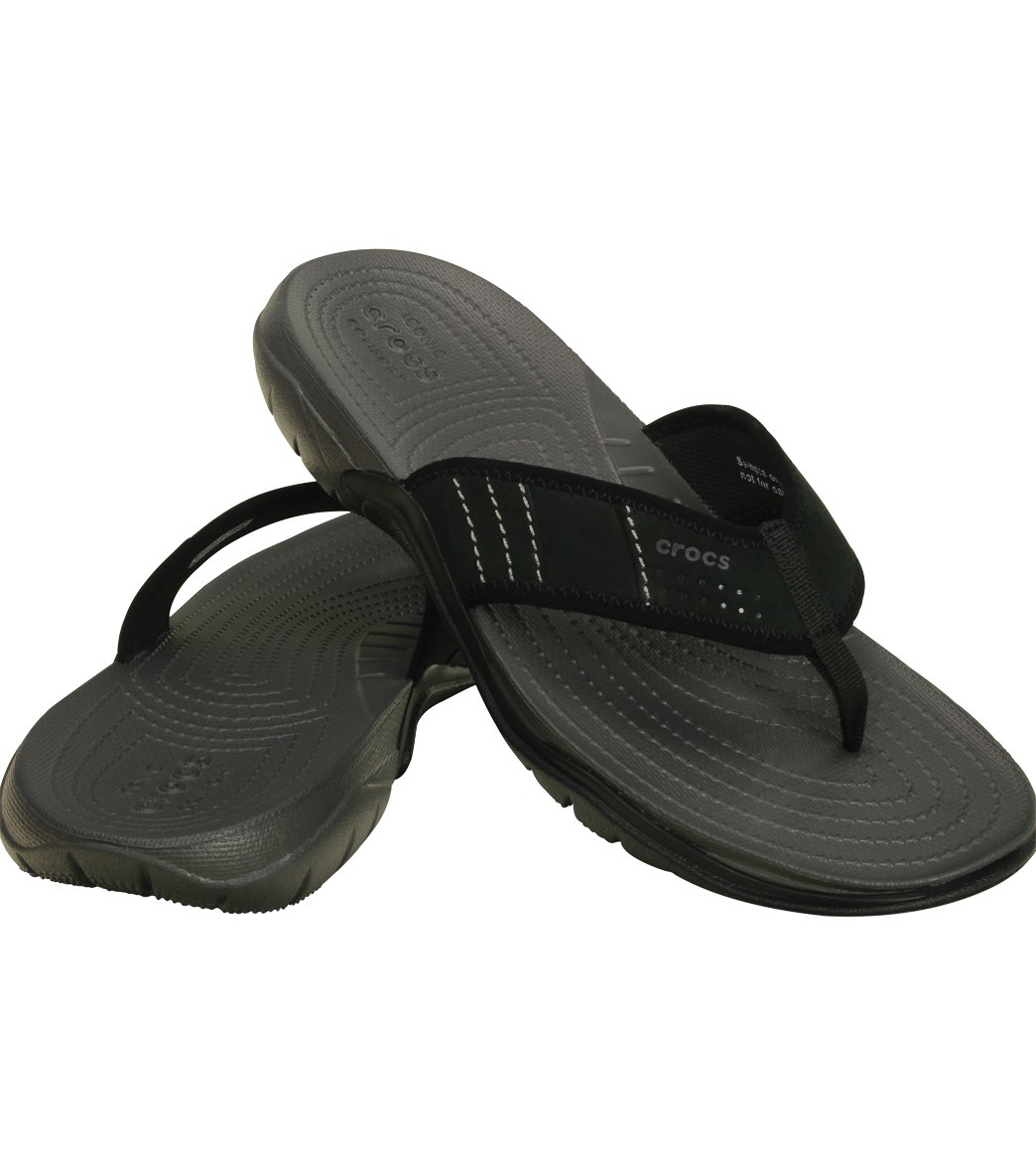 860d5a01f196 Crocs Men s Swiftwater Flip Flop at SwimOutlet.com