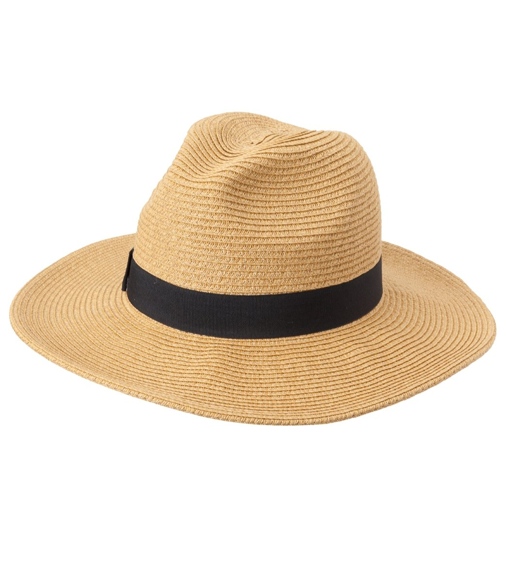 86a78e59 Sun N Sand Women's Multi Sewn Paper Braid Safari Hat at SwimOutlet.com