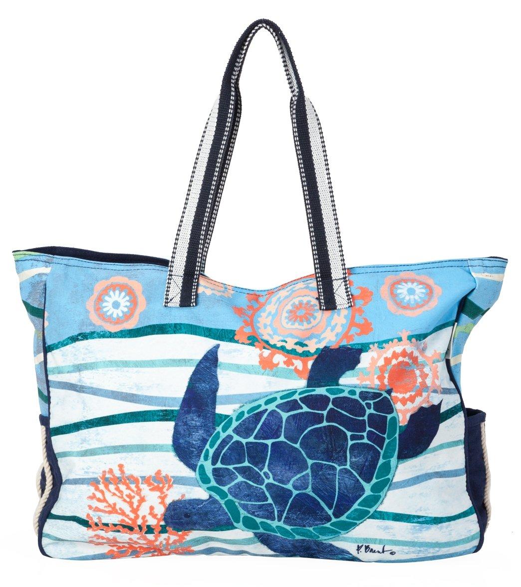 Sun N Sand Women S Seaside Treasures Oversized Tote Bag