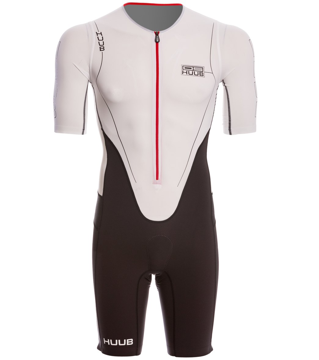 2f9e882eb16a46 Huub Dave Scott Long Course Sleeved Tri Suit at SwimOutlet.com - Free  Shipping