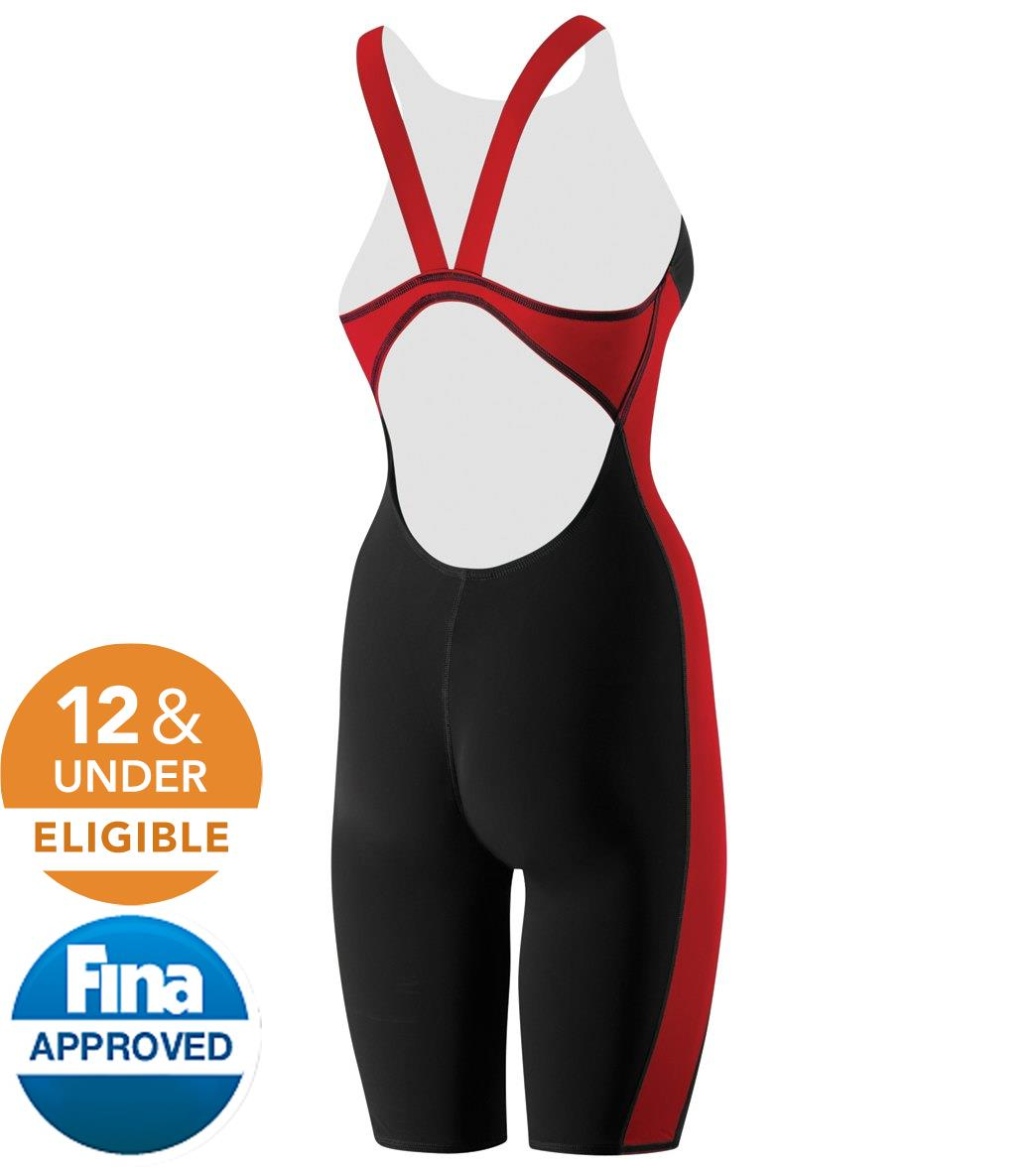 Speedo Women s Powerplus Kneeskin Tech Suit Swimsuit at SwimOutlet ... c365a91d2d