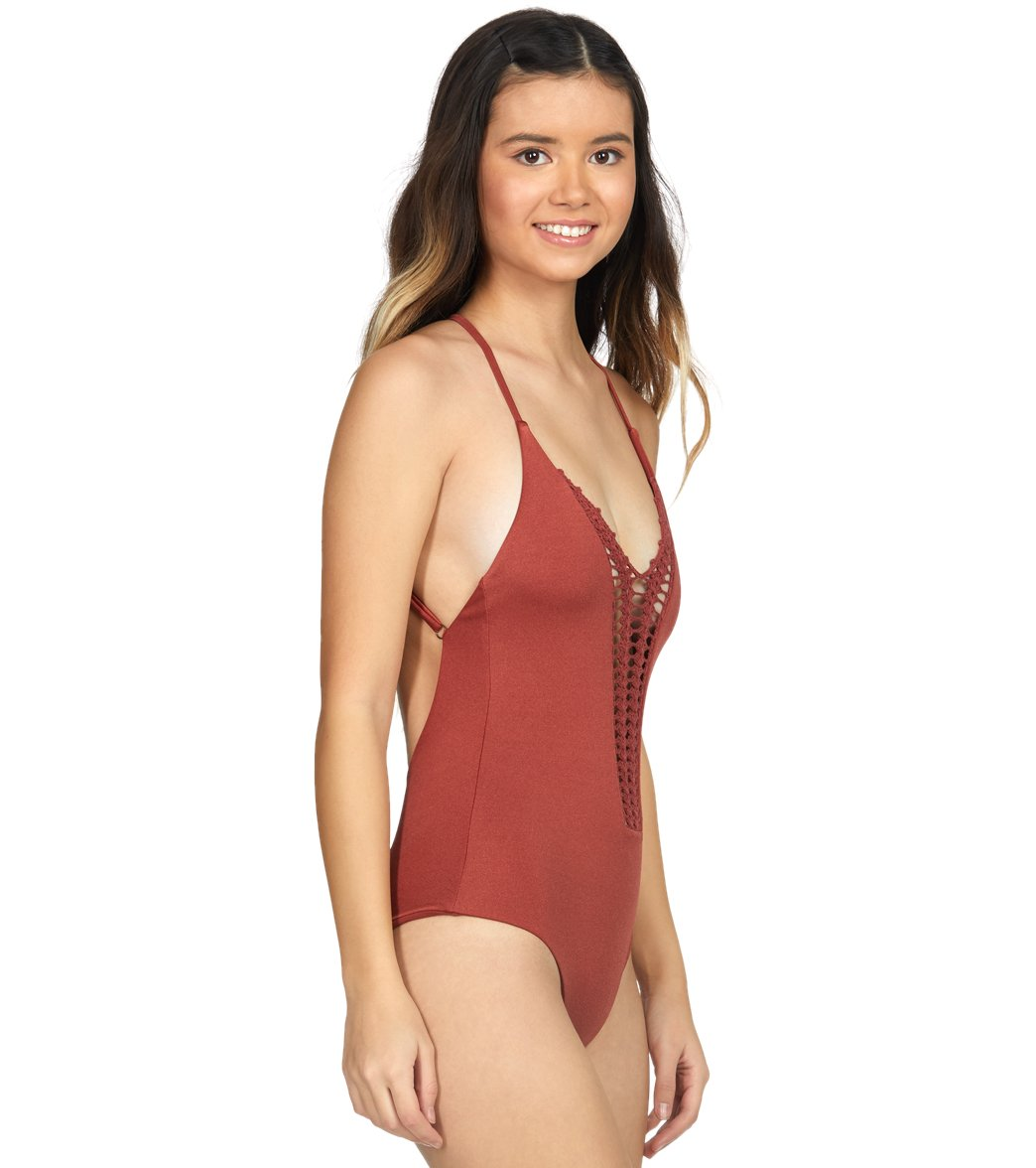 a1ef11fce2c Billabong Hippie Hooray One Piece Swimsuit at SwimOutlet.com - Free ...
