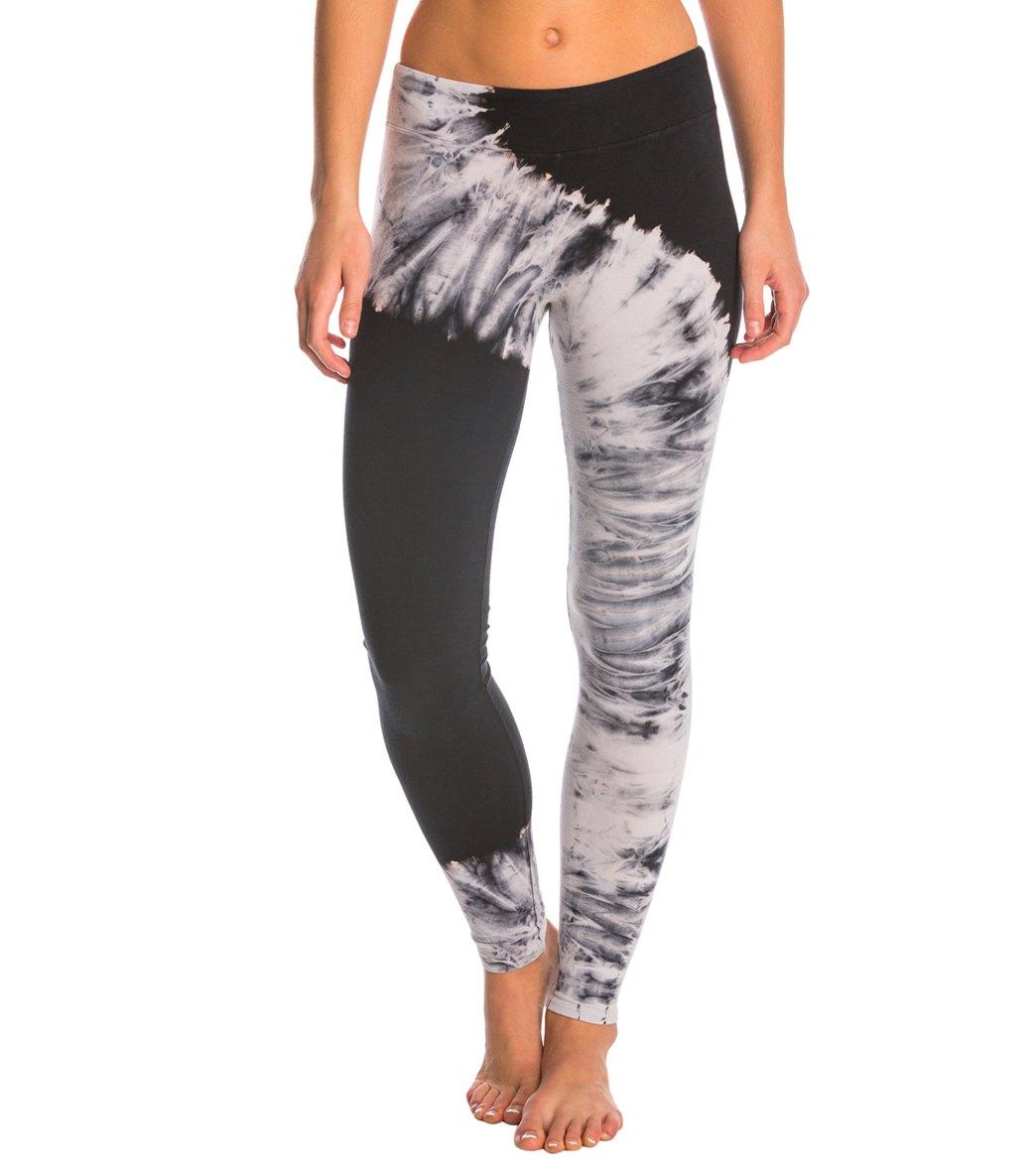 c558e473f8a2 Jala Clothing Tie Dye Yoga Leggings at SwimOutlet.com - Free Shipping