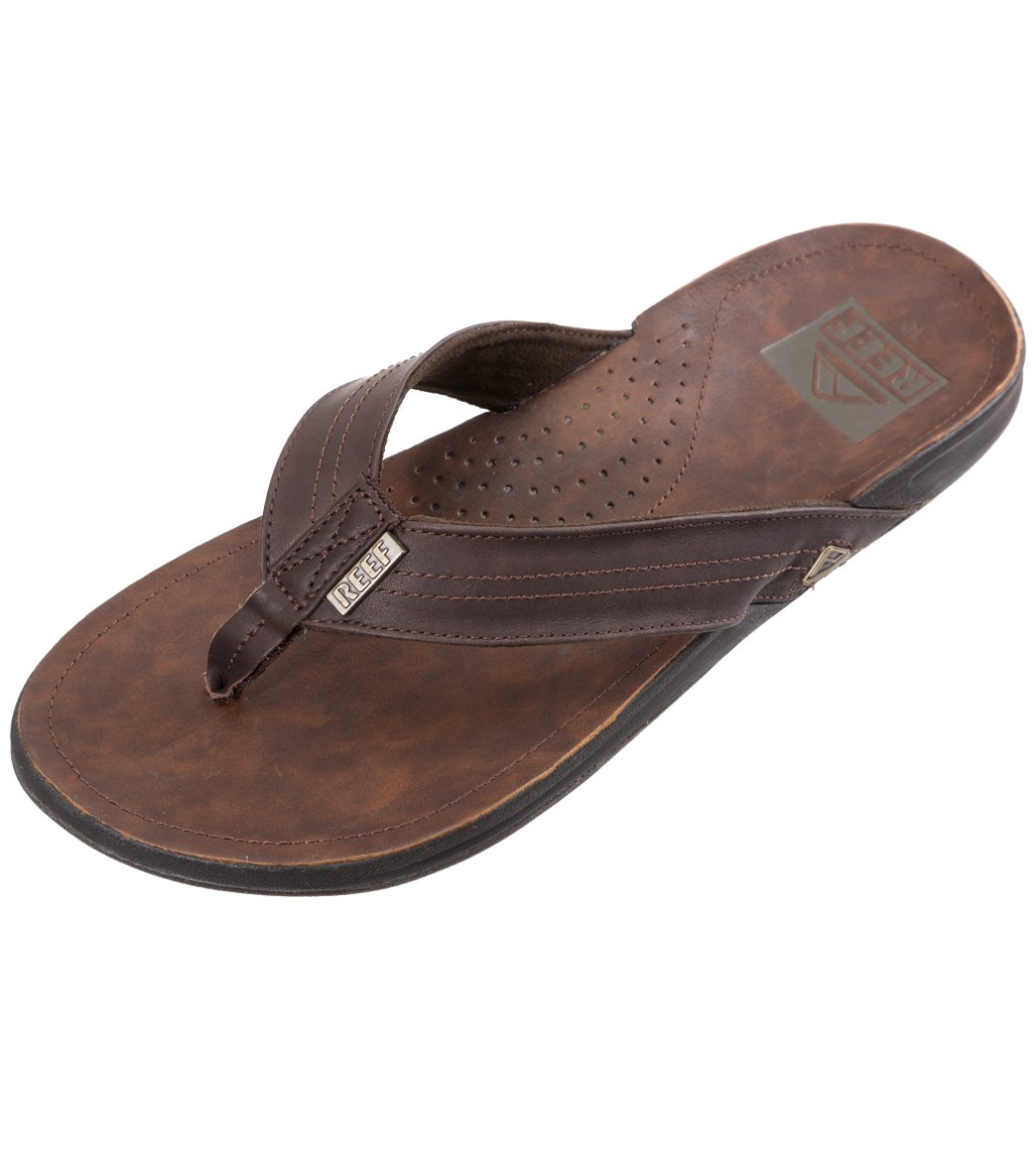 fd2239e771e1 Reef Men s J-Bay III Flip Flop at SwimOutlet.com - Free Shipping