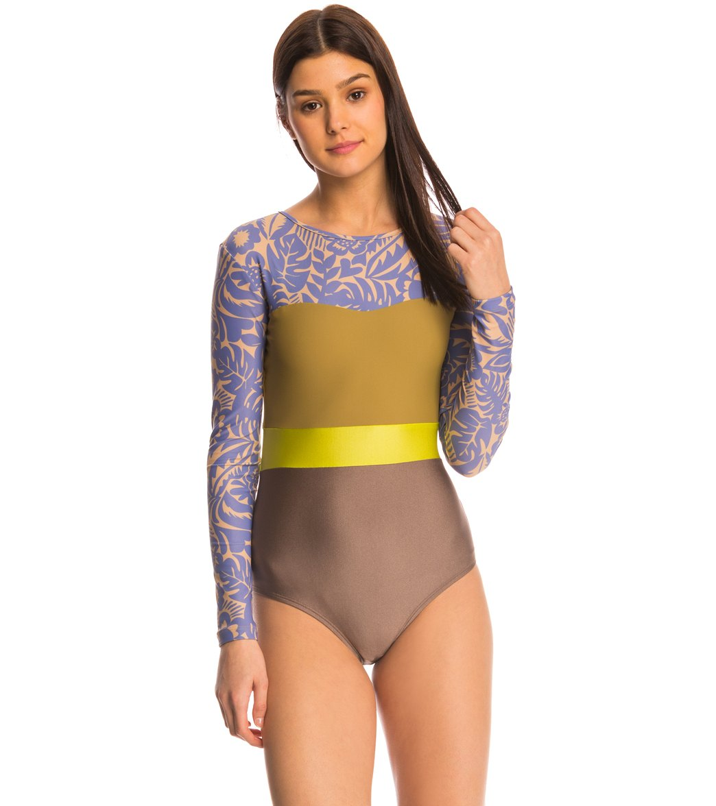 a6cf434a6bb76 Seea Dawn Hermosa L S One Piece Swimsuit at SwimOutlet.com ...