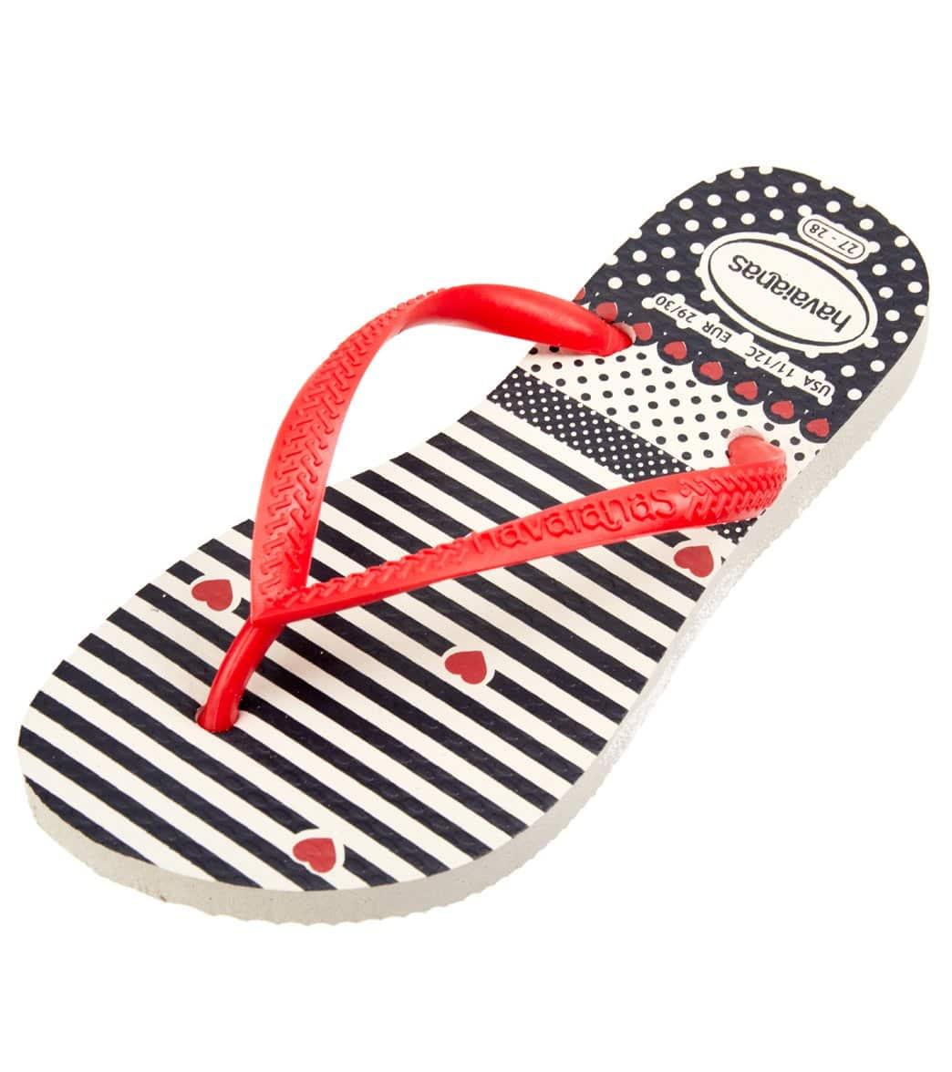 3f40fb4feb59 Havaianas Girls  Slim Fashion Flip Flop (Toddler