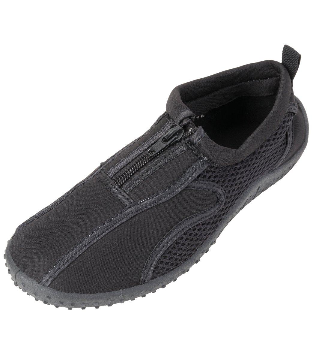 d485602253e5 Rockin Footwear Kids  Aqua Neon Zipper Water Shoes at SwimOutlet ...