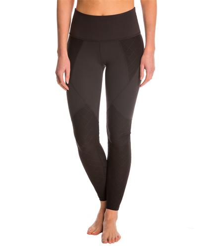 Beyond Yoga Quilted Paneled High Waist Long Yoga Leggings