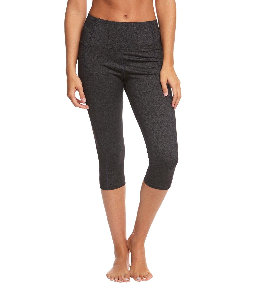 25f41860d71d Marika Brooke High Rise Tummy Control Yoga Capris at YogaOutlet.com ...