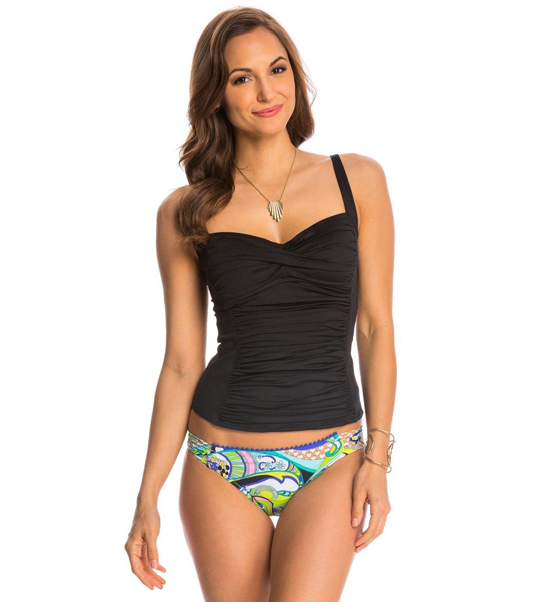 a60e36222d1d0 La Blanca Island Goddess Sweetheart Tankini Top at SwimOutlet.com - Free  Shipping