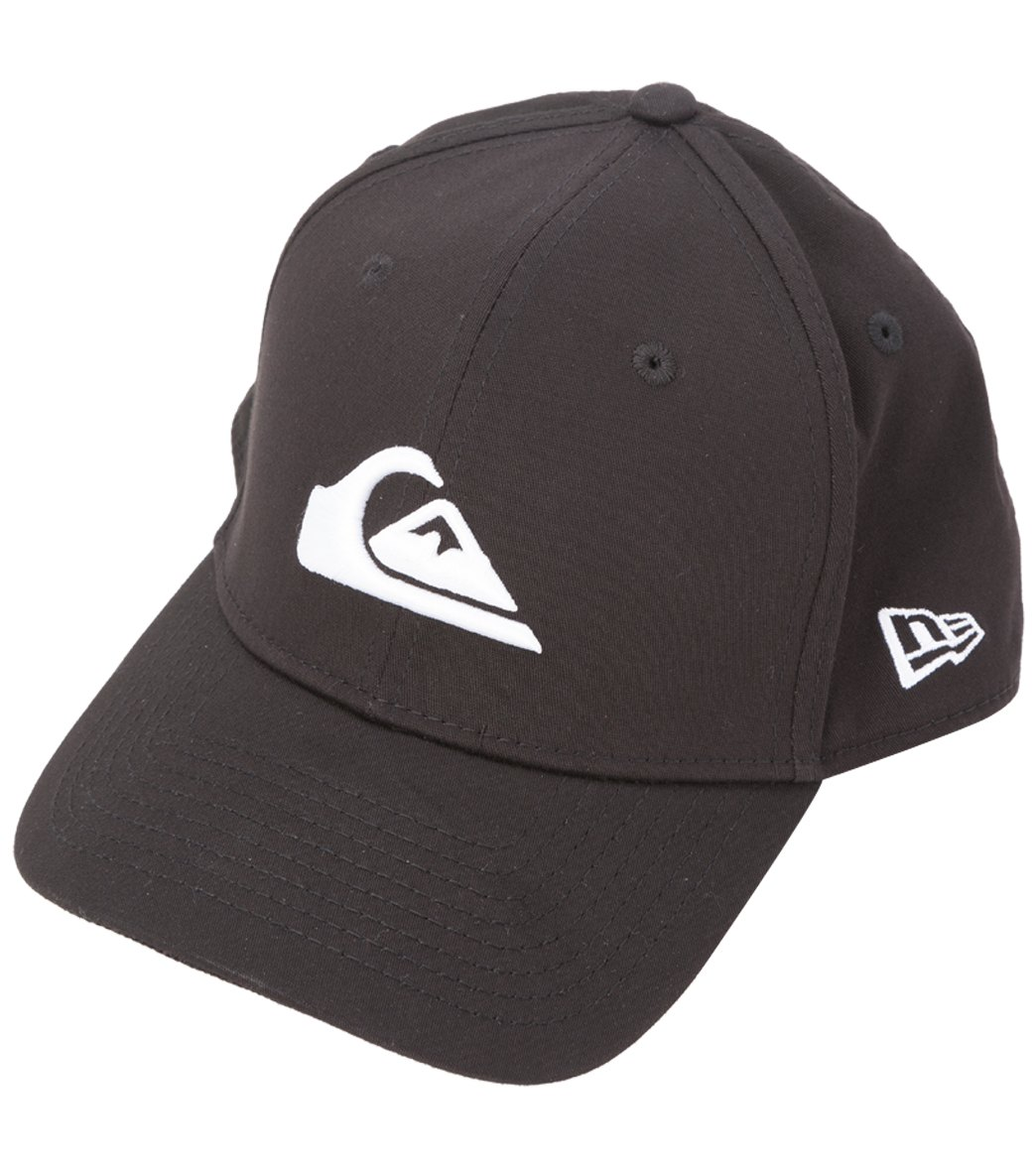 the best attitude b8354 91188 Quiksilver Men s Mountain   Wave Black Hat at SwimOutlet.com