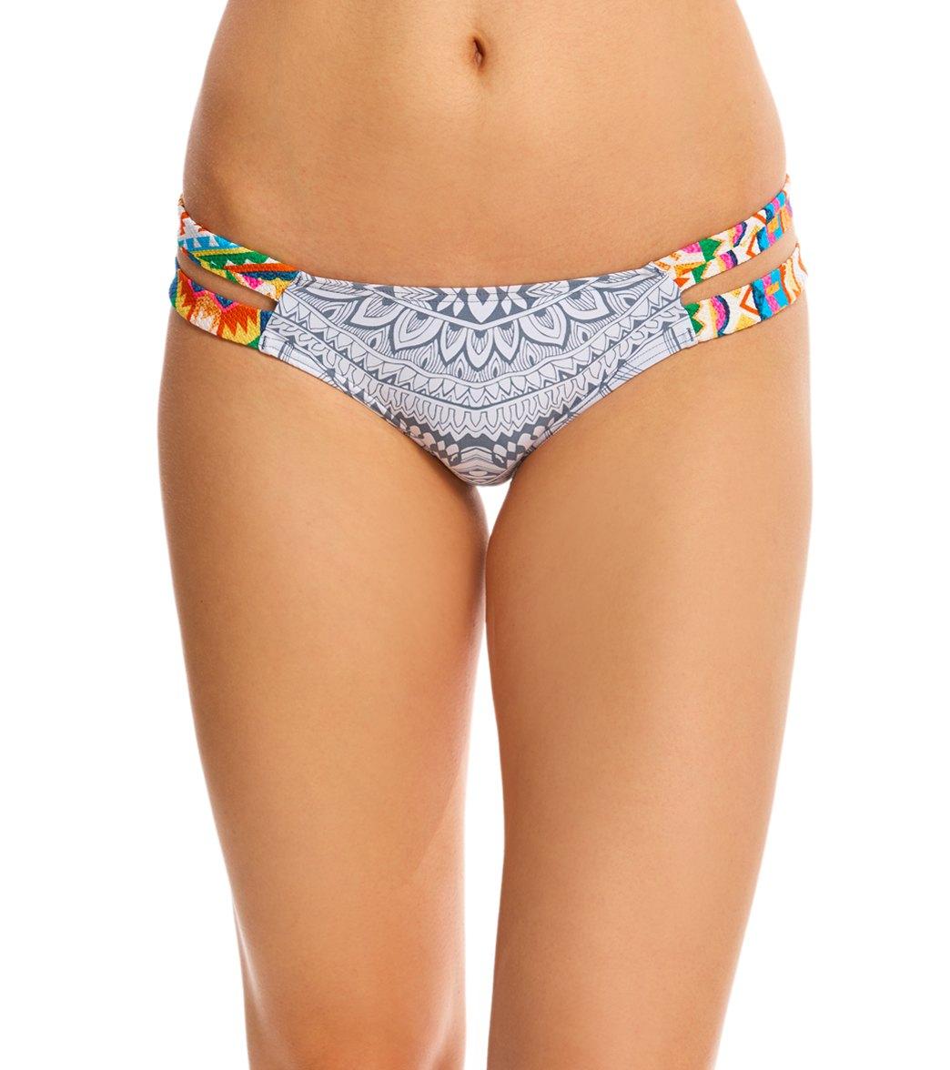 079764b658 ... Rip Curl Swimwear Mayan Sun Luxe Hipster Bikini Bottom. Play Video.  MODEL MEASUREMENTS