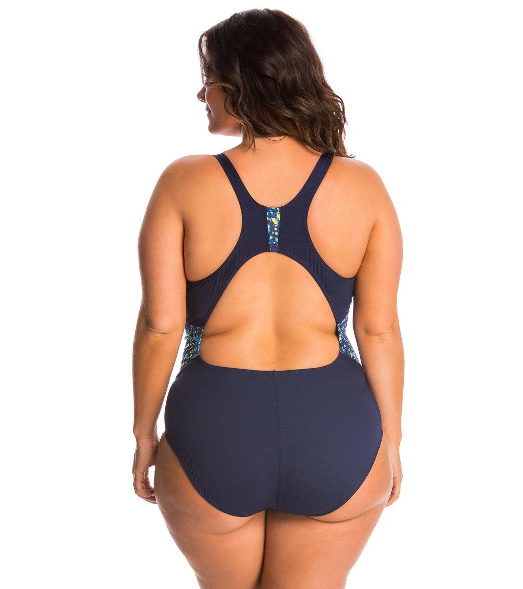 d752d0ef37c EQ Swimwear Plus Size Grace One Piece Swimsuit at SwimOutlet.com ...