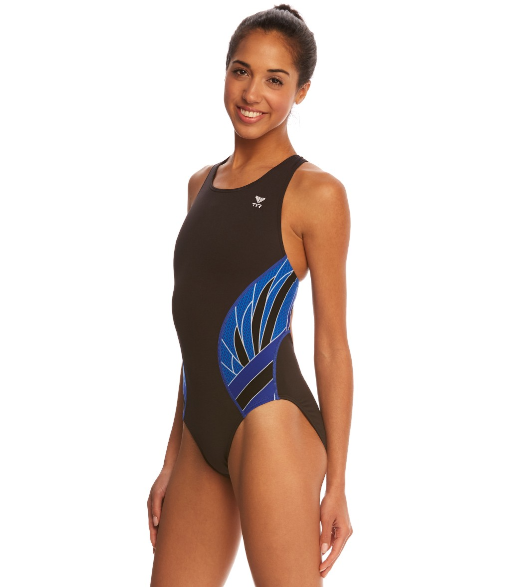 4859430a5df TYR Phoenix Maxfit One Piece Swimsuit at SwimOutlet.com - Free Shipping
