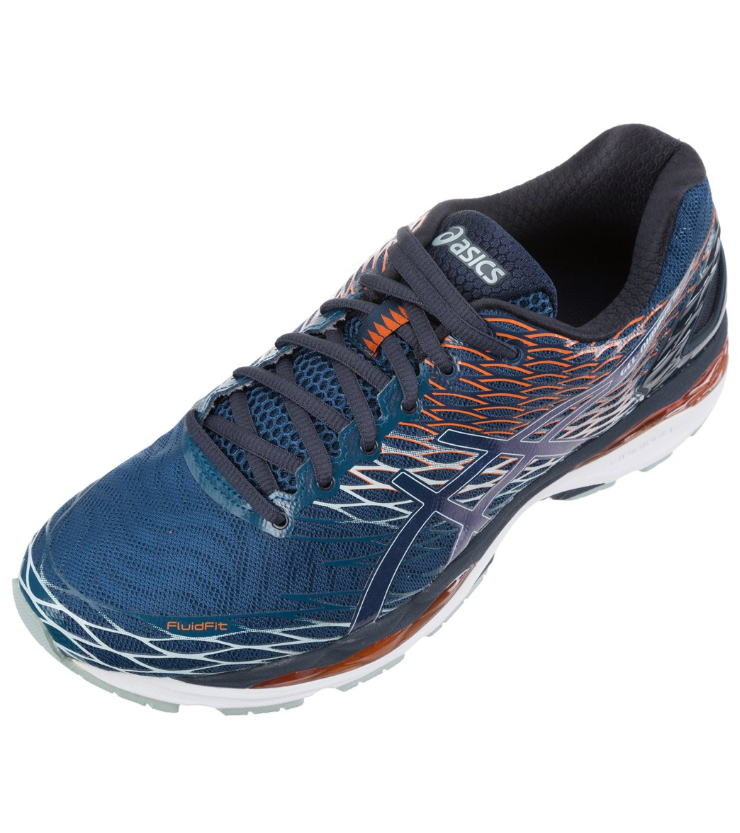 33aff8d6897d Asics Men s GEL-Nimbus 18 Running Shoes at SwimOutlet.com - Free Shipping