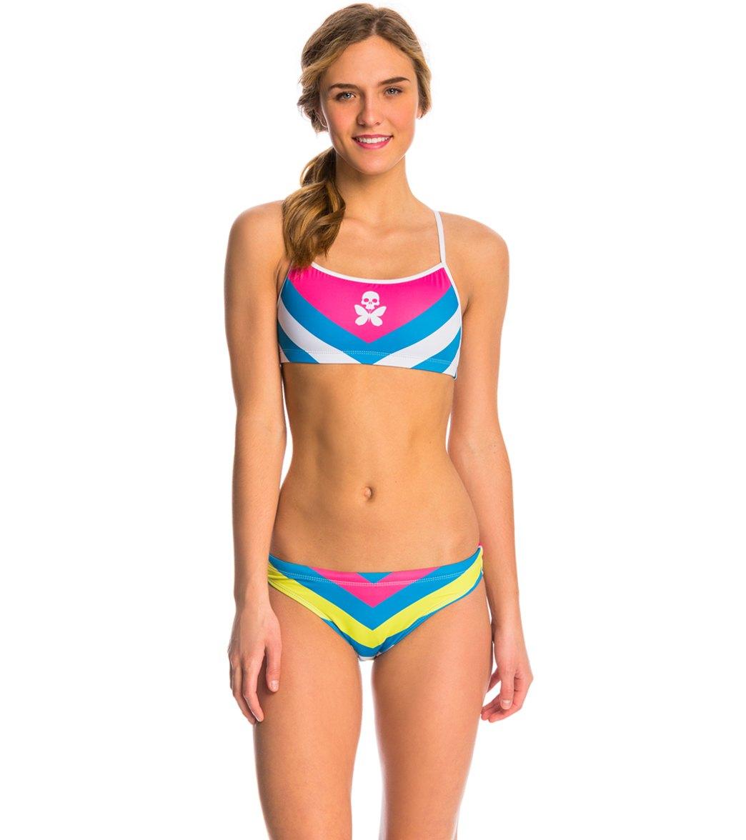 a082c1a22dea Betty Designs Women s Chevron Bikini Set at SwimOutlet.com - Free ...