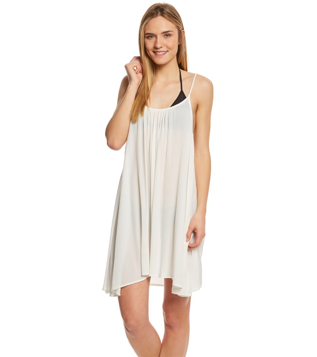 aae58fa8d4 Roxy Windy Fly Away Cover Up Dress at SwimOutlet.com