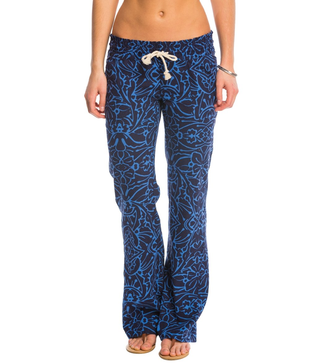 7fc3ac7930 Roxy Oceanside Print Beach Pant at SwimOutlet.com