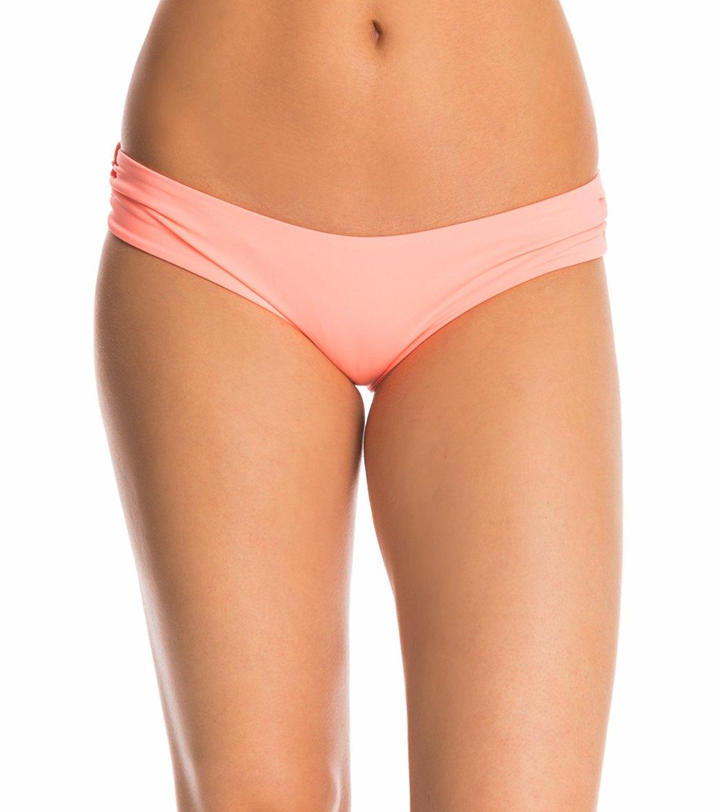 973751d8d4 Quintsoul Swimwear Solid Essentials Bella Bikini Bottom at SwimOutlet.com