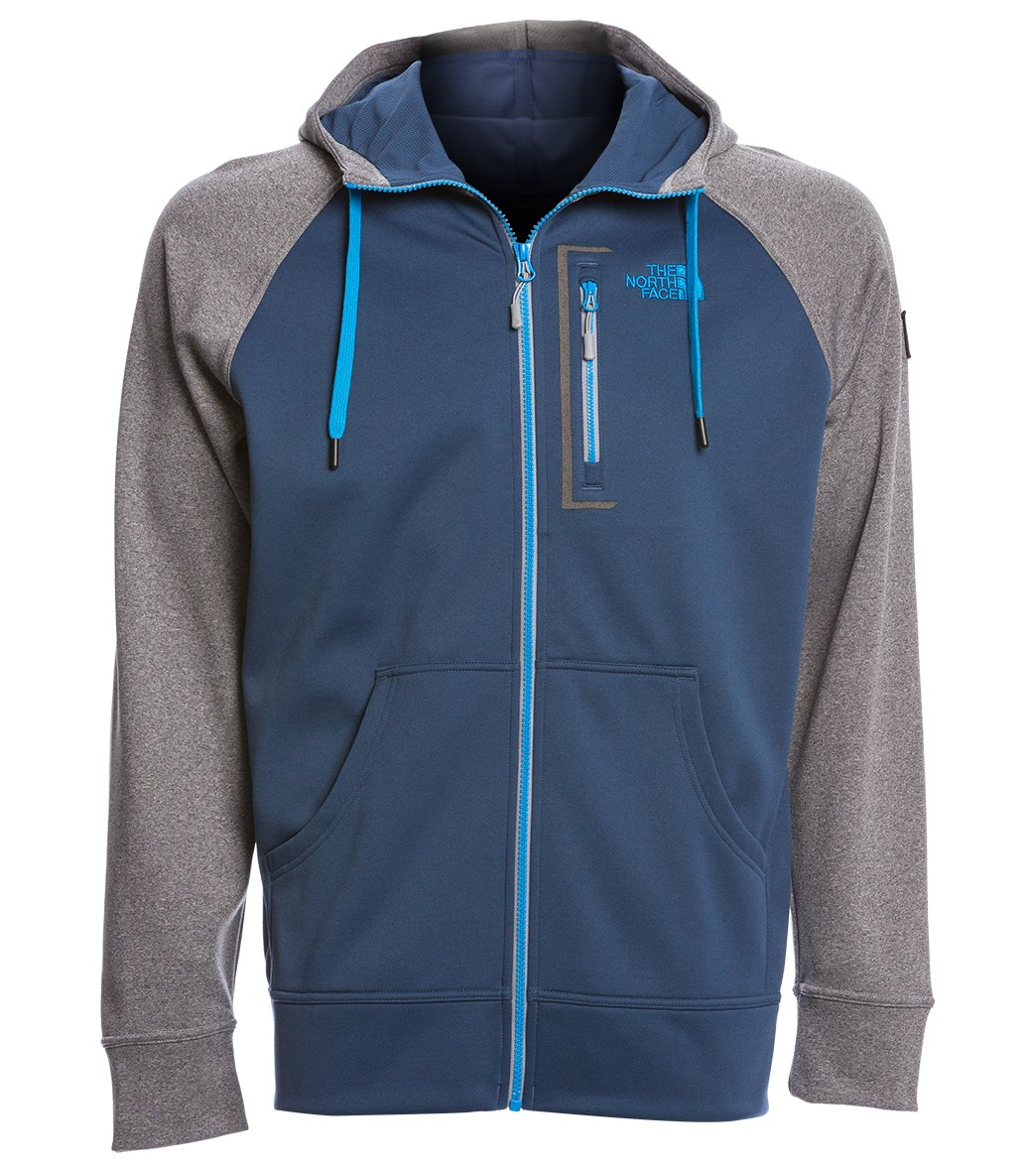 The North Face Men s Mack Mays Full Zip Hoodie at SwimOutlet.com - Free  Shipping daacd48bf8e7