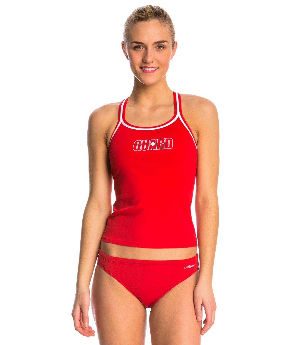 63cb8b06c1 Dolfin Lifeguard Tankini Swimsuit Top at SwimOutlet.com
