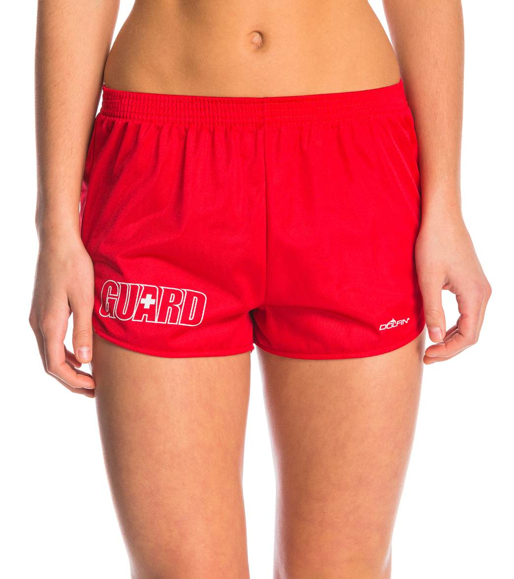 4fc1a432ed50 Dolfin Women s Lifeguard Cover-Up Short at SwimOutlet.com