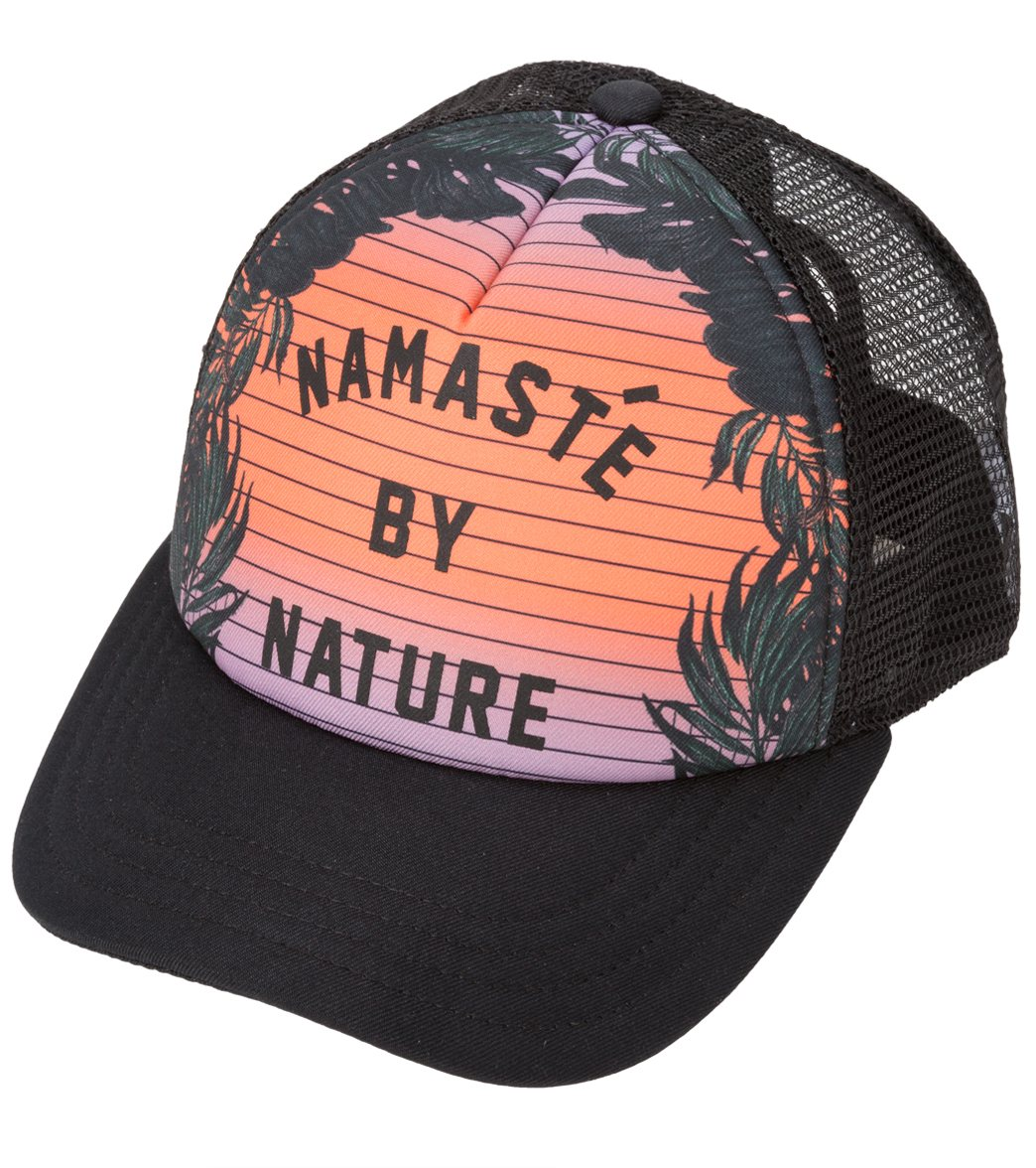 7ee93303f5404 Hurley Namaste Trucker Hat at SwimOutlet.com