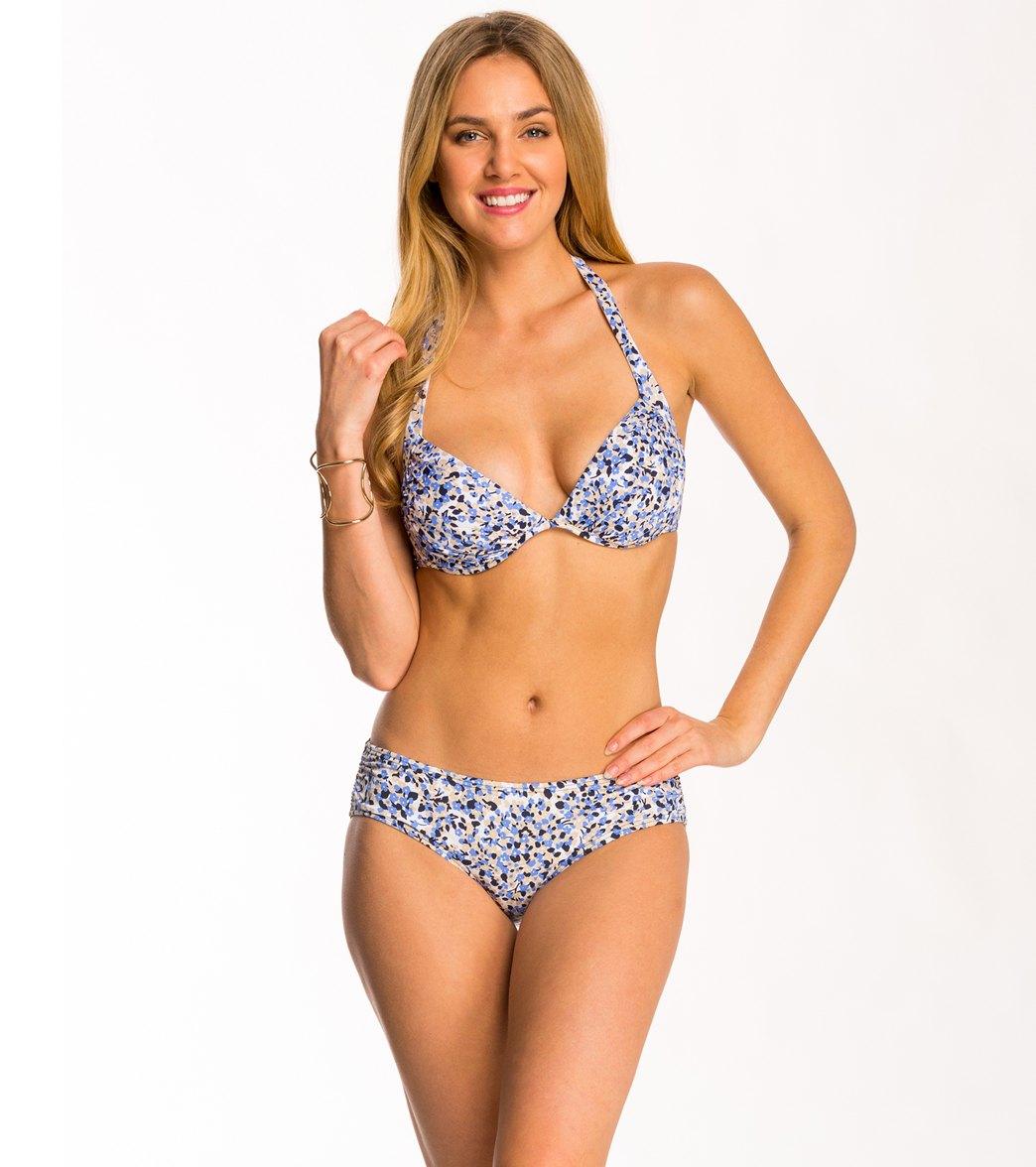 0eff76b5960 Michael Kors Swimwear Chiltington Underwire Halter Bikini Top at ...