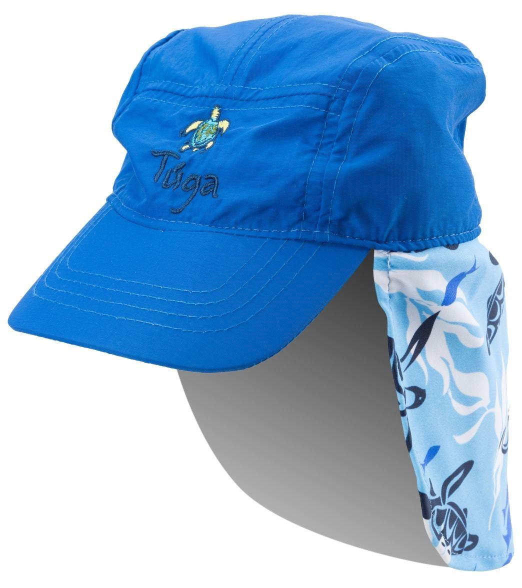 cbc2452e1e8 Tuga Boys  Turtle Paradise UPF 50+ Flap Hat at SwimOutlet.com
