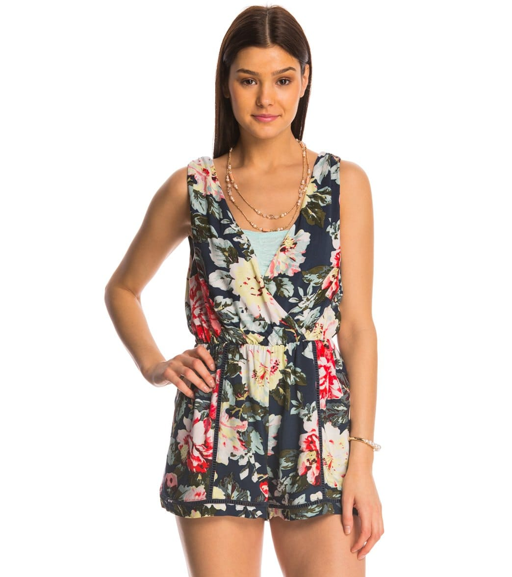 e5bf283020f MINKPINK Nothing Like The Wild Romper at SwimOutlet.com - Free Shipping