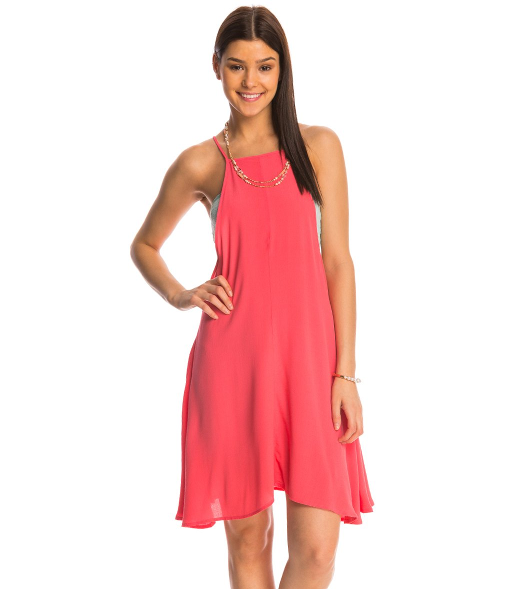 0909aa03a67 MINKPINK Wonder Why Swing Dress at SwimOutlet.com - Free Shipping